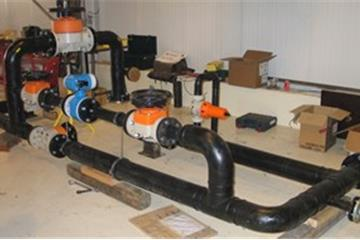 System for sludge pumping